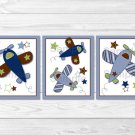 Airplane Little Aviator Printable Nursery Wall Art #A155