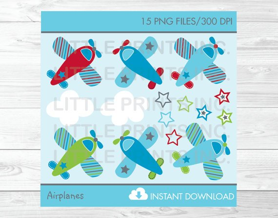 Airplanes Aviator Clipart #A155