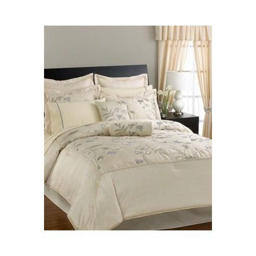23PC LAWSON BLUE EMBROIDERED COMFORTER BIAB SZ QUEEN