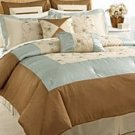 8 PC EMBROIDERED ADELINE  COMFORTER SET SIZE KING
