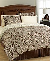 4 PC CHARTER CLUB SHELBURNE COMFORTER SET SIZE FULL