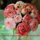 High simulation silk flower,custom wedding bouquets,custom bride hold flowers,20x25cm,free shipping