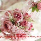 High simulation wedding ball-flowers,bouquets,bride hold flowers,14x35cm,free shipping