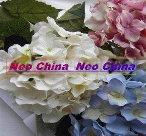20 Pcs, Christmas,Hotel decoration,High simulation silk flower/artificial flower, hydrangea