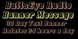 BullsEye Radio Banner