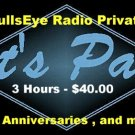 THE BULLSEYE RADIO PRIVATE PARTY