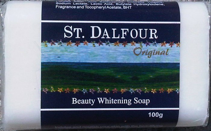 St Dalfour Beauty Whitening Soap