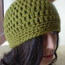 Olive Green Beanie Hat