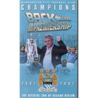 """Manchester City 2001/02 """"Back To The Premiership"""""""