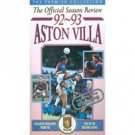 Aston Villa 1992/93 Season Review