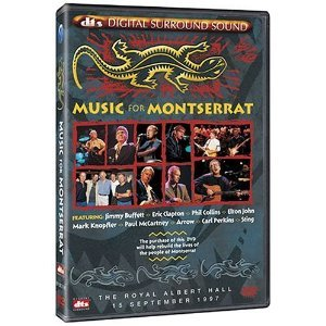 Music For Montserrat Live - Dolby Digital & DTS - Live Concert DVD