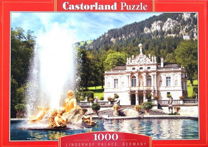 "Linderhoff Palace, Germany 1000 Piece Puzzle (Size 27"" X 18.5"")"