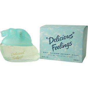 Delicious Feelings By Gale Hayman For Women. Eau De Toilette Spray 1.7 Ounces