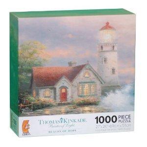 "Thomas Kinkade Painter of Light ""Beacon of Hope"" Jigsaw Puzzle"