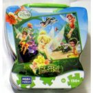 "Disney Fairies TinkerBell ""Summer Sparkles"" 150 Piece Puzzle in Tin Trunk Puzzle"