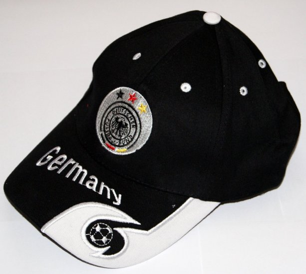 World Cup Soccer Team GERMANY ADULT Home SOCCER CAP / SOCCER HAT