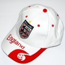 World Cup Soccer Team England ADULT Home SOCCER CAP / SOCCER HAT