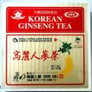 KOREAN GINSENG TEA Wooden Box with 50 Tea Bags - NET WT 3.5 oz (100 g)