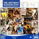 The Saturday Evening Post And The Art of Norman Rockwell  1000 Piece Puzzle