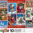 HOLIDAY TIME 10 Jigsaw Puzzles Gift Box