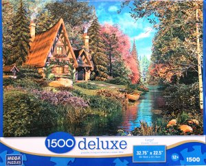 Fairytale Cottage 1500 Piece Deluxe Puzzle