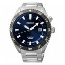 SEIKO Kinetic Stainless Steel NAVY Blue Dial  Watch for Men