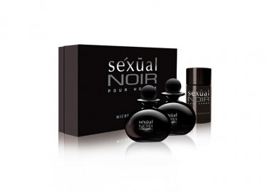 Michel Germain Sexual Noir Pour Homme (for Men) 3-Pc. Gift Set