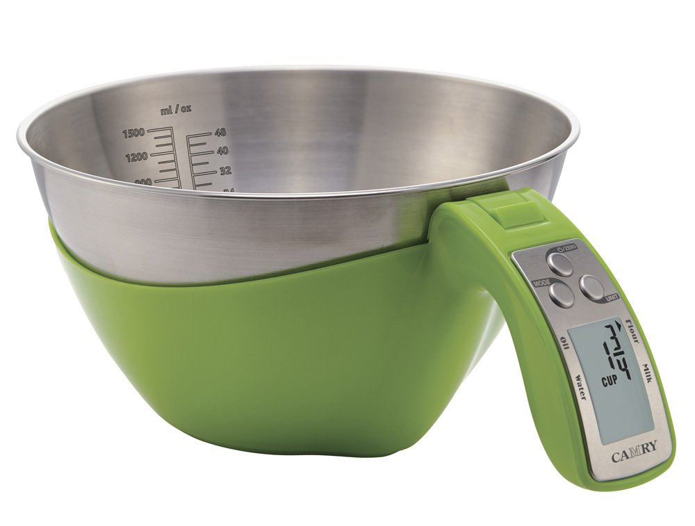 Camry measuring bowl scale with 5kg capacity