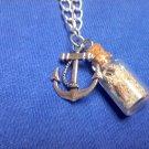 Beach Bottle Charm Necklaces
