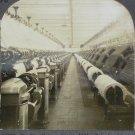Keystone stereoview cotton carding Orizaba Mexico mill