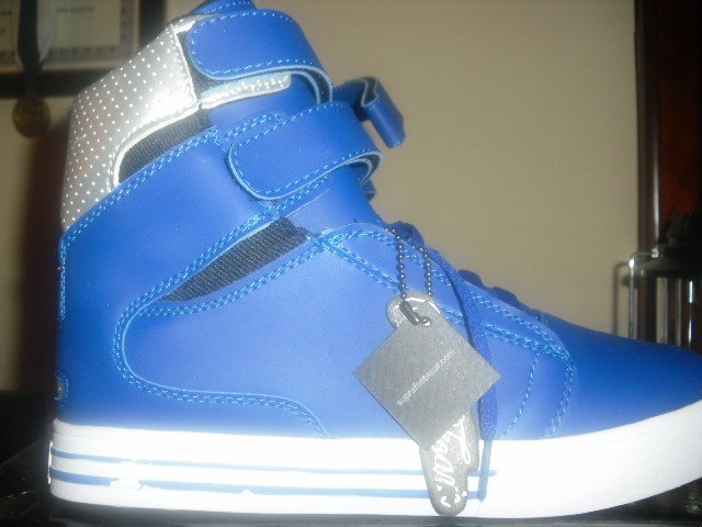 Supra Tk Society SZ:8.5US [Unreleased Blue & White]