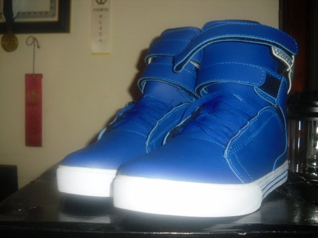 Supra Tk Society SZ:11US [Unreleased Blue & White]