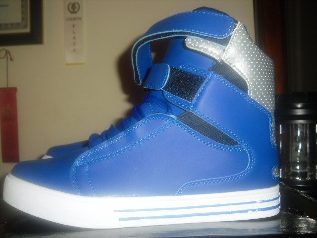 Supra Tk Society SZ:12US [Unreleased Blue & White]