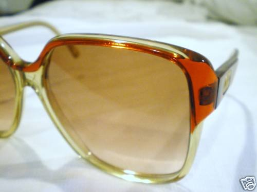 Vintage CELINE PARIS SUNGLASSES RED HAND MADE FRANCE