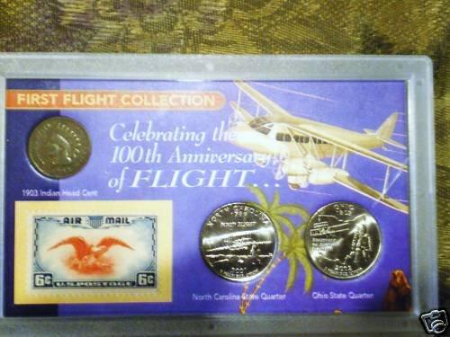 FIRST FLIGHT COLLECTION COINS & STAMP +AWSOME BONUS