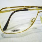 VINTAGE MISSONI AVIATOR EYEGLASSES GOLD 60-14-140