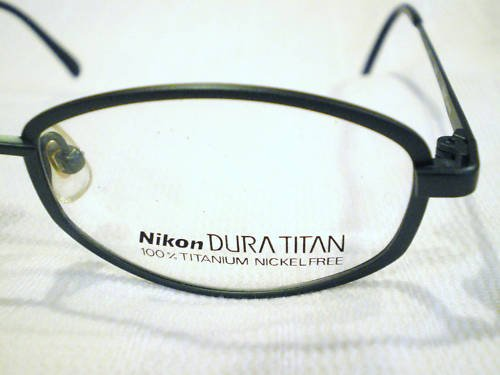 NEW NIKON  EYEGLASSES 100% TITANIUM NICKEL FREE