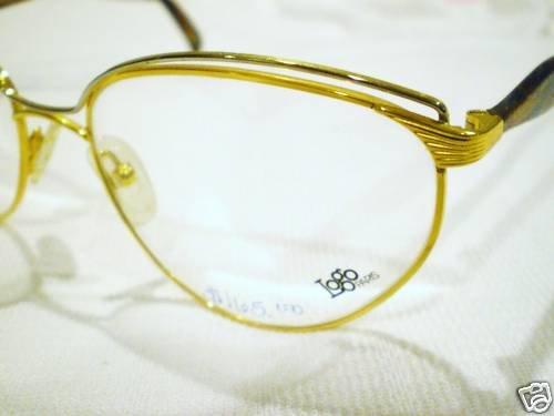 VINTAGE LOGO PARIS EYEGLASSES GOLD MULTICOLOR 57-18-135