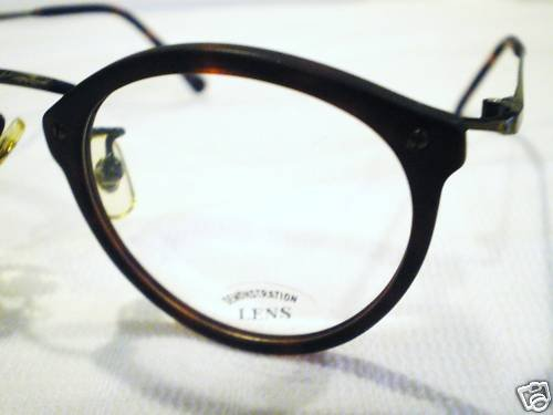 VINTAGE SIGN LANGUAGE EYEGLASSES DARK TORTOISE 48-20