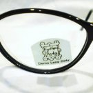 NEW CYNTHIA ROWLEY EYEGLASSES BROWN BLACK 48-18-135