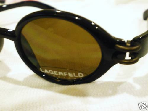 VINTAGE LAGERFELD ROUND SUNGLASSES MADE IN FRANCE