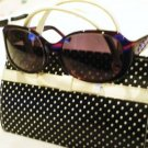 NEW CYNTHIA ROWLEY CR 0236 PURPLE/VIOLET SUNGLASS HOT!
