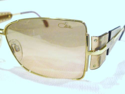 NEW CAZAL 947 SUNGLASSES GOLD LIGHT BROWN MADE GERMANY