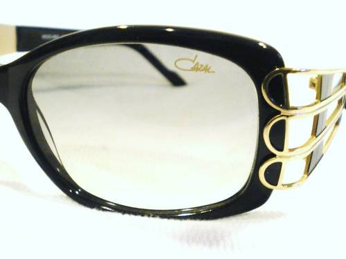 NEW CAZAL 880 SUNGLASSES GOLD BLACK MADE GERMANY LIMITE