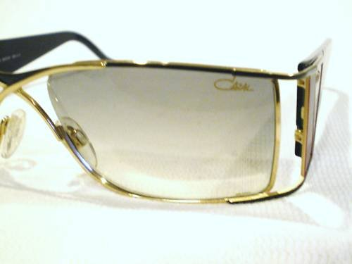NEW CAZAL 961 SUNGLASSES GOLD BLACK RED MADE IN GERMANY