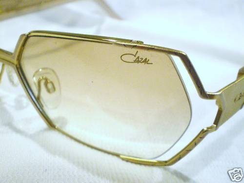 NEW CAZAL 940 SUNGLASSES GOLD PEARLED MADE IN GERMANY