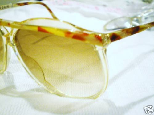 VINTAGE RODENSTOCK SUNGLASSES CLEAR MULTICOLOR