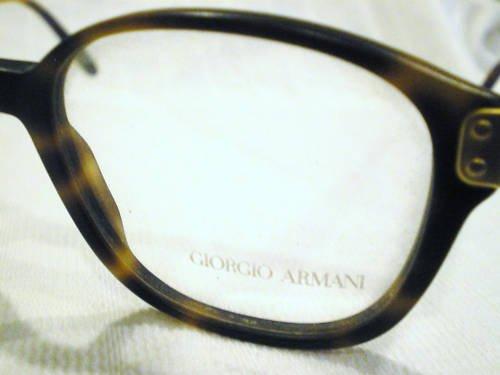 VINTAGE GIORGIO ARMANI EYEGLASSES TORTOISE GOLD 307