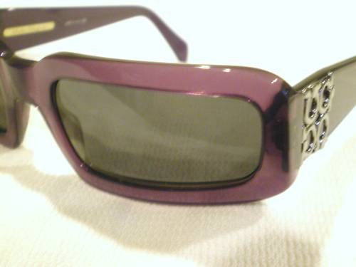 VINTAGE Salvatore Ferragamo Sunglasses PEARL PURPLE