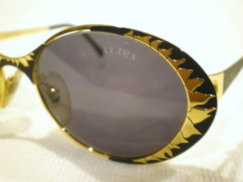 Vintage CAVIAR COLLECTION ULTRA FLAME SUNGLASSES  ITALY